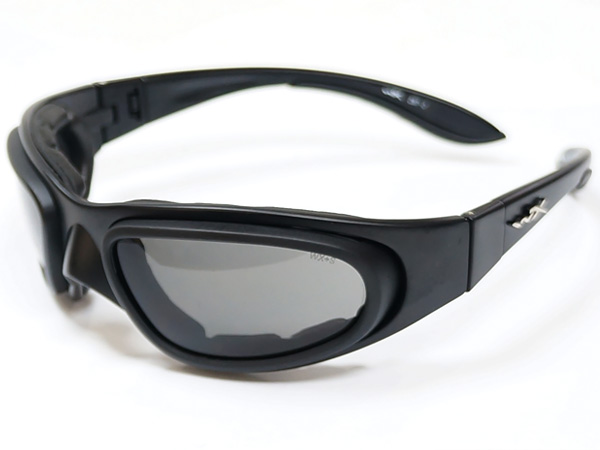 Wiley X SG-1 Z87-2 Goggles Smoke Grey/Clear Matte Black Frame (ワイリーエックス)/NSN#4240-01-504-0994