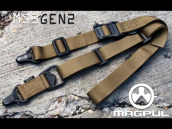 【本家米国MAGPUL実物】Gen2 MS3 Multi-Mission Sling (マグプル実物MS3 Gen-2スリング)