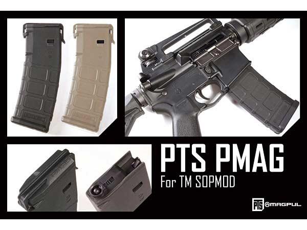 【MAGPUL PTS製】次世代 M4 PMAG TM SOPMOD 東京マルイ次世代M4電動ガン用(120/30切替)